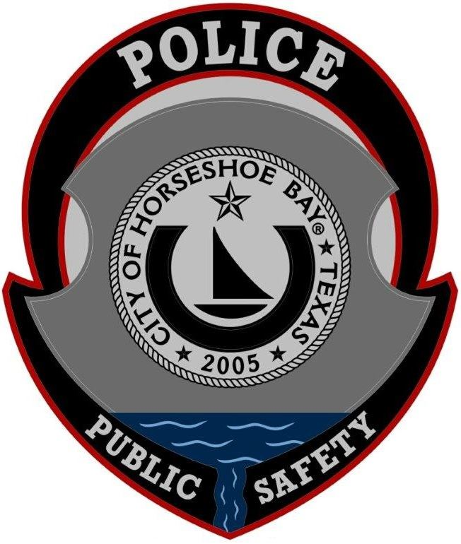 HORSE SHOE BAY POLICE PATCH NEW 2
